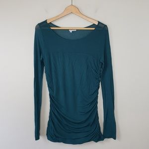 Halogen | Side Ruched Tunic Top